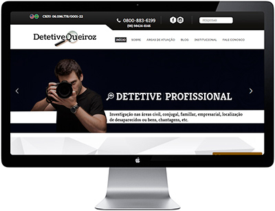 detetive queiroz home